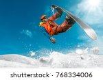 snowboarding sport photo | Shutterstock . vector #768334006