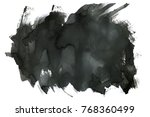 abstract ink background. marble ... | Shutterstock . vector #768360499