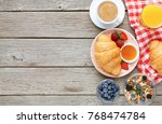 rich morning food background.... | Shutterstock . vector #768474784