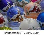Christmas Decorations   Blue...