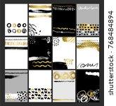 creative fashion glamour hand... | Shutterstock .eps vector #768484894