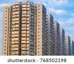 condominium apartment... | Shutterstock . vector #768502198