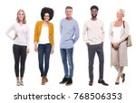 group of people | Shutterstock . vector #768506353