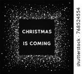 amazing falling stars christmas ... | Shutterstock .eps vector #768524554