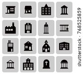 buildings  real estate  house... | Shutterstock .eps vector #768525859