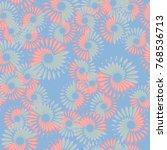 seamless pattern. spiral...   Shutterstock .eps vector #768536713