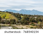 cloudy day at chino hills state ... | Shutterstock . vector #768540154