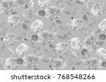 flower wallpaper  texture ... | Shutterstock . vector #768548266