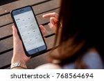 bangkok  thailand   november...   Shutterstock . vector #768564694