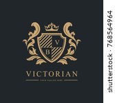 luxury logo  vector logo...   Shutterstock .eps vector #768564964