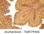 texture  pattern. white silk...   Shutterstock . vector #768579406