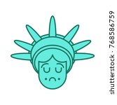 Statue Of Liberty Face Emoji....