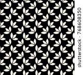 vector seamless pattern. branch ... | Shutterstock .eps vector #768608350