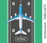 realistic 3d detailed travel... | Shutterstock .eps vector #768611674
