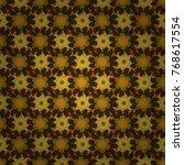 design for cloth  wallpaper ... | Shutterstock .eps vector #768617554