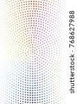 light multicolor illustration... | Shutterstock . vector #768627988