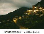 jiufen taiwan miyazaki chinese... | Shutterstock . vector #768631618