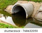 Concrete Culvert Pipe Hole...