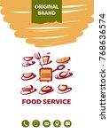 template logo  banner  poster...   Shutterstock .eps vector #768636574