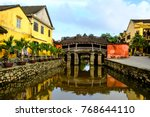 hoi an town   view of the... | Shutterstock . vector #768644110