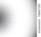 vector abstract dotted halftone ... | Shutterstock .eps vector #768667183