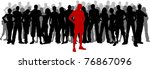 stand out from the crowd   Shutterstock .eps vector #76867096