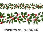 merry christmas and happy new... | Shutterstock .eps vector #768702433