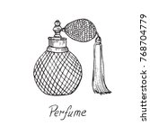 Perfume Vintage Bottle With...