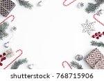 christmas... | Shutterstock . vector #768715906