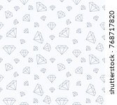 jewelry seamless pattern ... | Shutterstock .eps vector #768717820