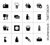 plastic icons. vector...