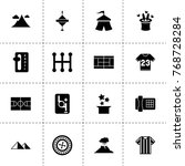 top icons. vector collection... | Shutterstock .eps vector #768728284