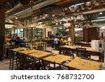 bologna  italy   circa december ... | Shutterstock . vector #768732700