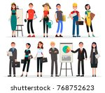 banners of labor day and... | Shutterstock .eps vector #768752623