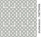 vector celtic ornament | Shutterstock .eps vector #768756406