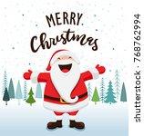 santa claus vector illustration | Shutterstock .eps vector #768762994