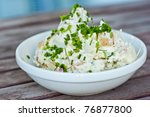 Potato salad - stock photo