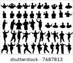 shadowboxing | Shutterstock .eps vector #7687813