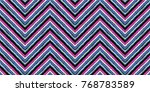 seamless geometric horizontal... | Shutterstock .eps vector #768783589