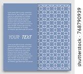 card  invitation  cover... | Shutterstock .eps vector #768790939