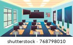 modern flat illustration.... | Shutterstock .eps vector #768798010