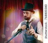 hocus pocus  funny... | Shutterstock . vector #768800380