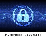 protection concept. protect... | Shutterstock .eps vector #768836554