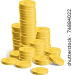 money | Shutterstock .eps vector #76884022