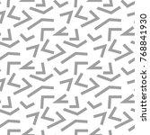 light gray geometric print.... | Shutterstock .eps vector #768841930