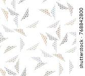 japanese pattern vector.... | Shutterstock .eps vector #768842800