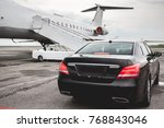 business class service at the... | Shutterstock . vector #768843046