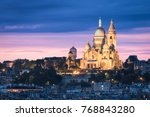the basilica of the sacred... | Shutterstock . vector #768843280