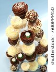 Small photo of Cupcakes on stand