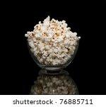 Popcorn In A Glass Pot  ...